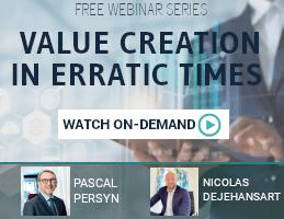 Pereptos Webinar Series: Value creation in erratic times