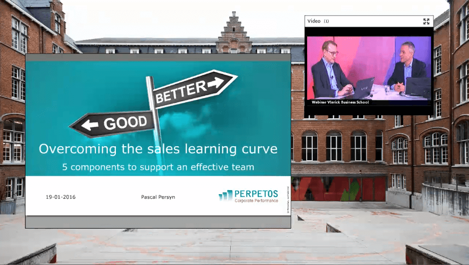 Webinar Overcoming the sales learning curve