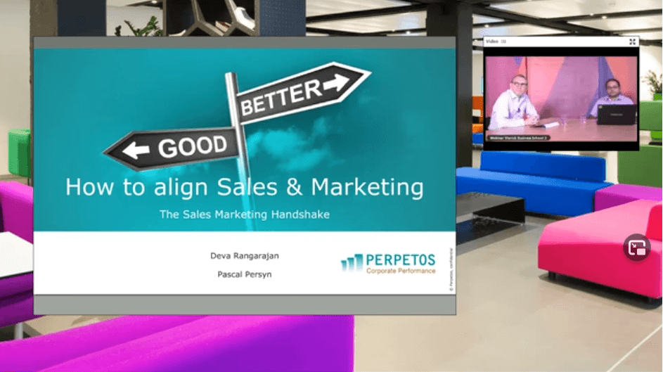 Webinar How to align Sales and Marketing