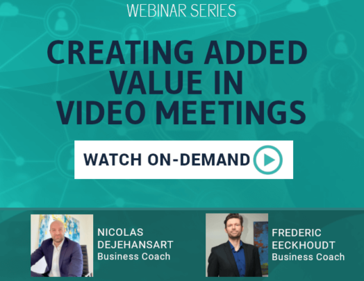 Watch on-demand Creating added value in video meetings
