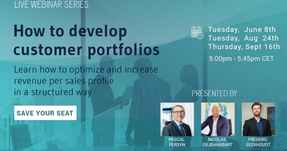 How to develop customer portfolios