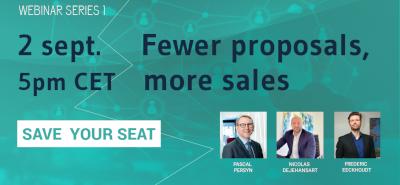 Fewer proposals, more sales