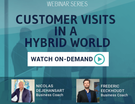 Webinar Customer visits in a hybrid world