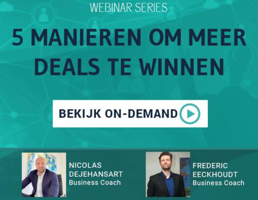 5 manieren om meer deals te winnen