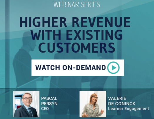 Webinar: Higher revenue with existing customers