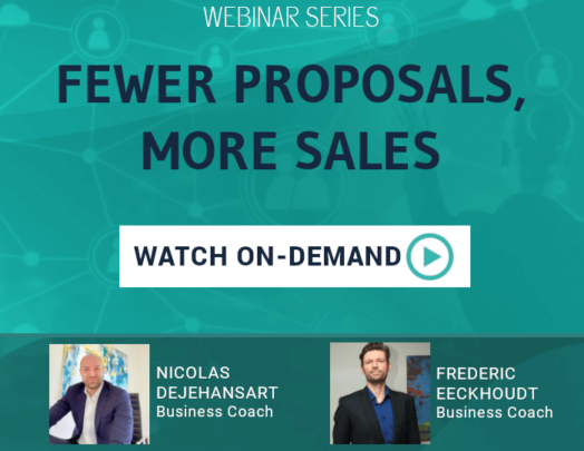 Webinar: Fewer proposals, more sales